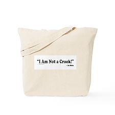 Not a Crook Tote Bag