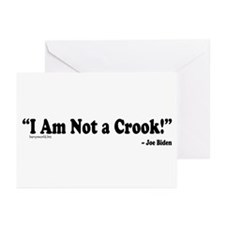 Not a Crook Greeting Cards (Pk of 10)