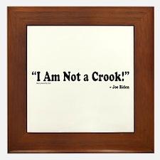 Not a Crook Framed Tile