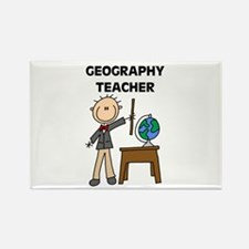 Geography Teacher Rectangle Magnet