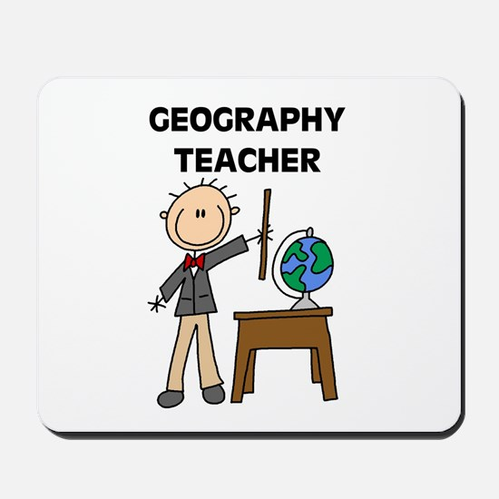 Geography Teacher Mousepad