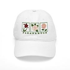 Pleasanton Floral Baseball Cap