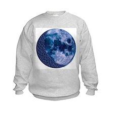 Celtic Knotwork Blue Moon Sweatshirt