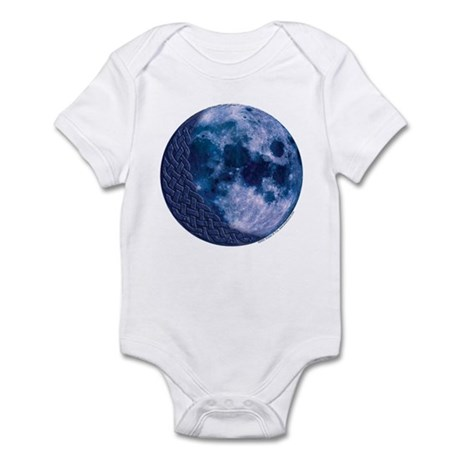 Celtic Knotwork Blue Moon Infant Creeper