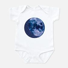 Celtic Knotwork Blue Moon Infant Creeper