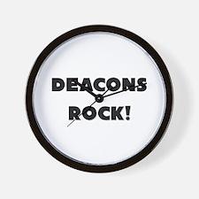 Deacons ROCK Wall Clock