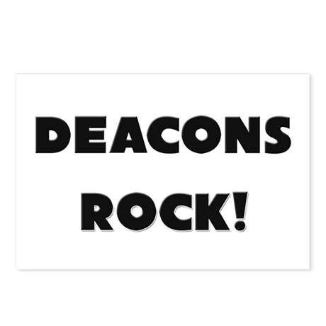 Deacons ROCK Postcards (Package of 8)
