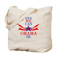 Yes, We CAN! Obama T-Shirt Tote Bag