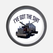 I've Got The Shit Wall Clock