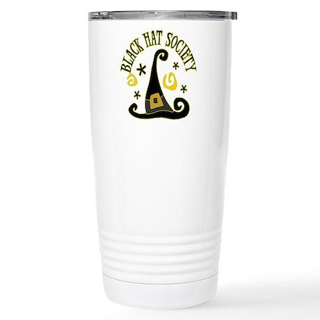 Black Hat Society Stainless Steel Travel Mug