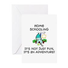 Cute Homeschooling Greeting Cards (Pk of 10)