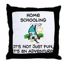 Unique Homeschool Throw Pillow
