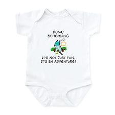 Funny Homeschooling Infant Bodysuit