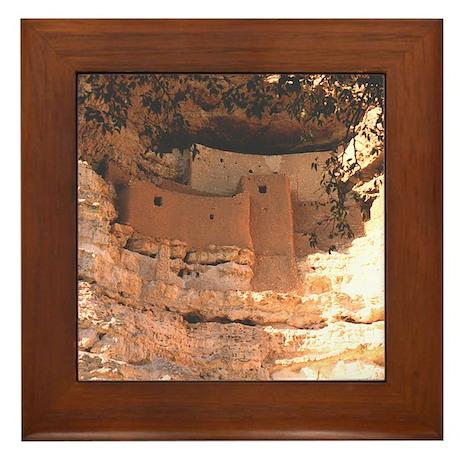 Montezuma Castle - Framed Tile