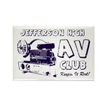 AV Club - Keepin It Reel! Rectangle Magnet