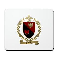 FOUCHER Family Crest Mousepad