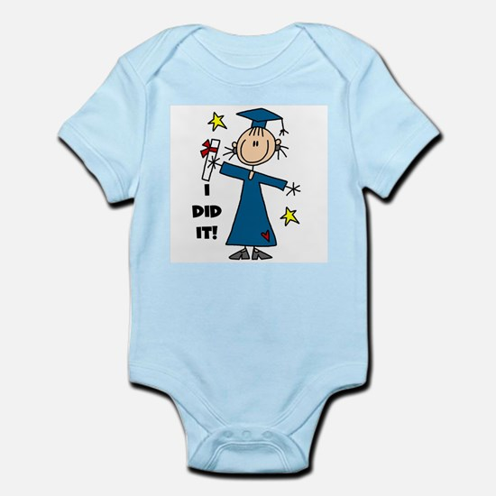 Girl Graduate Infant Bodysuit