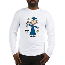 Girl Graduate Long Sleeve T-Shirt