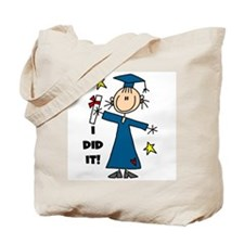 Girl Graduate Tote Bag
