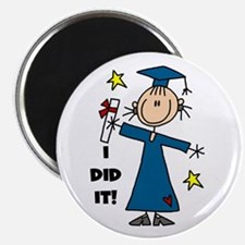 "Girl Graduate 2.25"" Magnet (10 pack)"