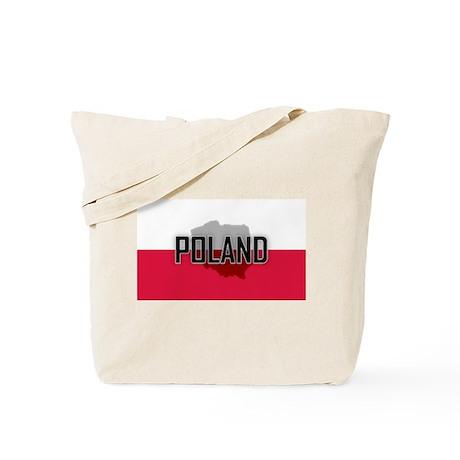 Flag of Poland Extra Tote Bag