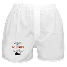 Queen of Halloween Boxer Shorts