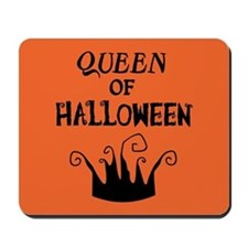 Queen of Halloween Mousepad