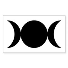 Tripple Moon Goddess Decal