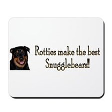Rotties are Sungglebears Mousepad