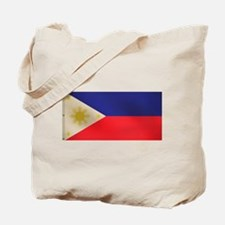 Filipino flag Tote Bag