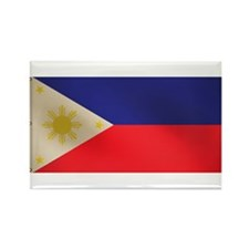 Filipino flag Rectangle Magnet