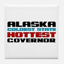 Alaska Governor Tile Coaster