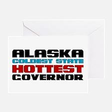 Alaska Governor Greeting Card