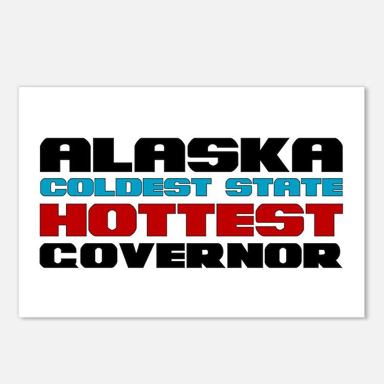 Alaska Governor Postcards (Package of 8)