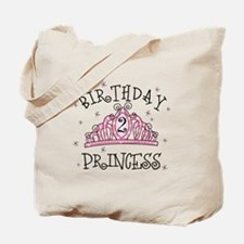 Tiara Birthday Princess 2nd Tote Bag