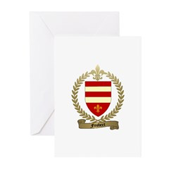FOUBERT Family Crest Greeting Cards (Pk of 10)