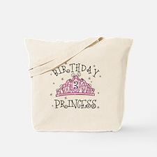 Tiara Birthday Princess 3rd Tote Bag