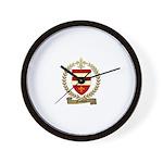 FOUBERT Family Crest Wall Clock