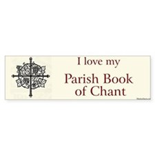 Parish Book of Chant Bumper Bumper Sticker