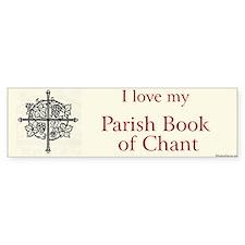 Parish Book of Chant Bumper Bumper Stickers