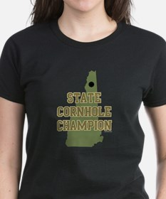 New Hampshire State Cornhole Tee