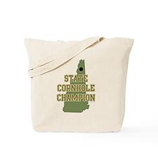 New Hampshire State Cornhole Tote Bag