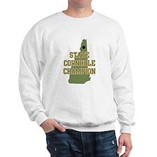 New Hampshire State Cornhole Sweatshirt