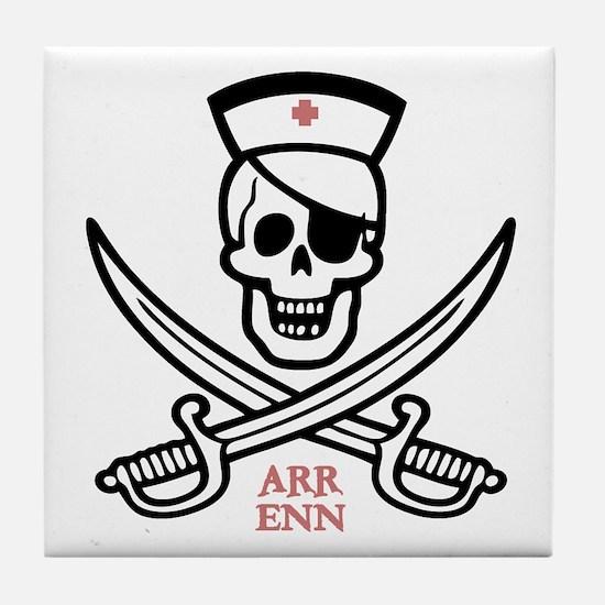 Arr Enn Rackham Tile Coaster