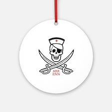 Arr Enn Rackham Ornament (Round)