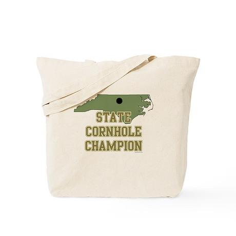 North Carolina State Cornhole Tote Bag