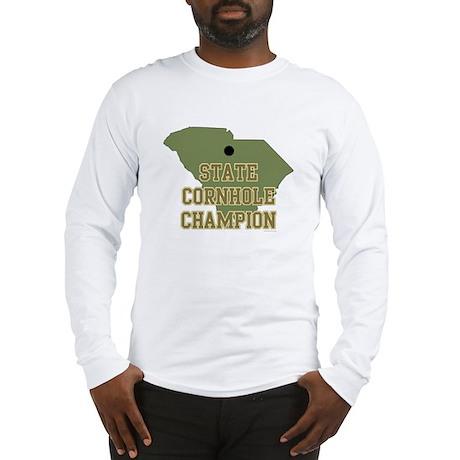 South Carolina State Cornhole Long Sleeve T-Shirt