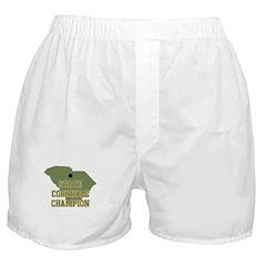 South Carolina State Cornhole Boxer Shorts