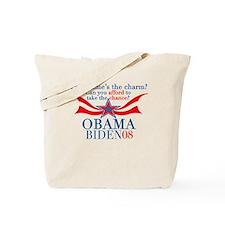Third Time Charm? Obama T-Shirt Tote Bag