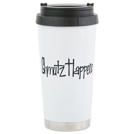 Shmutz Happens Stainless Steel Travel Mug